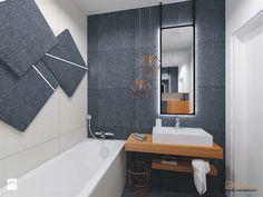 Dwupoziomowe mieszkanie we Wrocławiu - Łazienka, styl nowoczesny - zdjęcie od ARCHISTIK Studio Projektowe