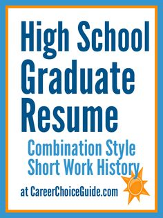 sample high school graduate resume. Resume Example. Resume CV Cover Letter