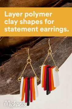 How To Make Earrings, Diy Earrings, Leather Earrings, Statement Earrings, Tassel Necklace, Boot Jewelry, Cute Jewelry, Metal Jewelry, Jewelry Crafts