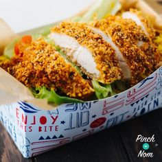 The temptation of the takeaway will be kept well under control with this low calorie and low Points, slimming-friendly KFC Rice Box!