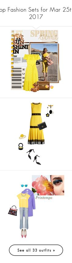 """""""Top Fashion Sets for Mar 25th, 2017"""" by polyvore ❤ liked on Polyvore featuring Nicole Trunfio, Lisa Marie Fernandez, Maison Margiela, Dsquared2, 7 For All Mankind, Topshop, yellowdress, Dolce&Gabbana, Charlotte Russe and NEXTE Jewelry"""
