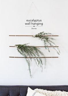 DIY Eucalyptus Wall Hanging