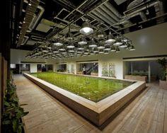 Pasona recruitment agency building in Tokyo, Japan - Courtesy of Kono Designs