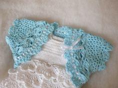 26 Beste Afbeeldingen Van Bolero Haken Crochet Baby Clothes