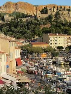 Cassis, France...loved this quaint town.