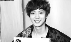 EXO Chanyeol (gif) I'm at the point where I'm getting angry at him for being so damn cute. How dare you