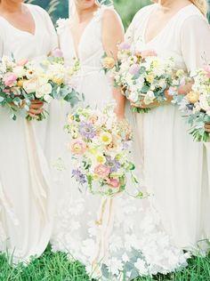 When a Pastel-Loving Florist Weds... Magic Happens! Wedding Veil, Wedding Bouquets, Wedding Dresses, Cute Couples, Wedding Inspiration, Wedding Ideas, Groom, Bridesmaid Dresses, Wedding Photography