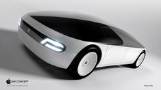Concept design for the rumored Apple Electric Car by Aristomenis Tsirbas