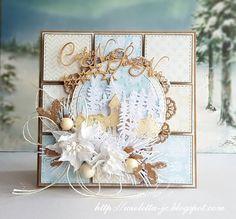 kartka patchworkowa na Boże Narodzenie
