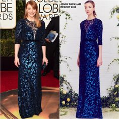 Bryce Dallas Howard in Jenny Packham at the 73rd Annual Golden Globe Awards