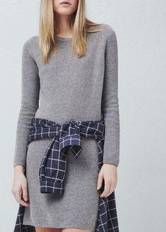 Vestido malha algodão