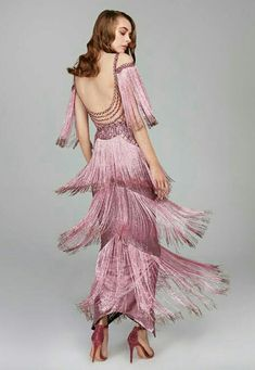 #fashion #elegance #fringes #hautecouture #hamdaalfahim #style #gowns