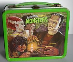 Universal Movie Monsters Metal Lunchbox, Aladdin Industries, 1979 #vintage #lunchbox