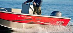 New 2012 Hewescraft 160 Open Fisherman Multi-Species Fishing Boat - In Action!