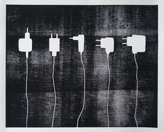 Britta Mahnecke Værktøjstavle 001 50x60 cm