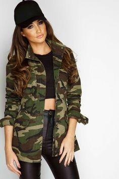 Die 10 Besten Bilder Von Camouflagejacken Damen Jackets