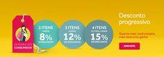 Outras Boticário - Desconto Progressivo 15% OFF 4 Produtos ou mais + Cupom 15% OFF