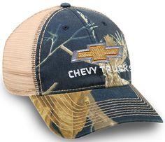 Chevy Trucks Realtree Mesh Cap