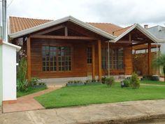 Casas de madeira pré-fabricada - fotos, preços 26