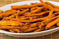 SPICY sweet potato fries. This might be the end of me, folks.