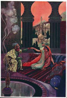 "Rene Bull - ""The Arabian Nights"" (1930) [Spirit of the Ages Collection]"