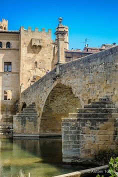 Roman Bridge. Valderrobres - Teruel, España