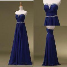 Royal Blue Prom Dresses, Lo..