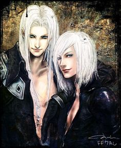 by J - Final Fantasy VII - Sephiroth / Kadaj