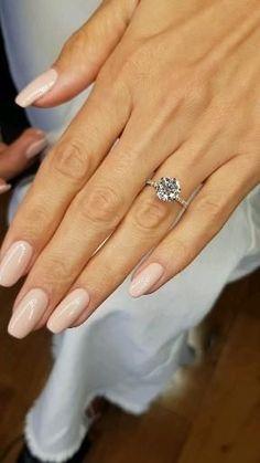 Cute Engagement Rings, Halo Diamond Engagement Ring, Wedding Engagement, Different Engagement Rings, 2 Carat Diamond Ring, Most Beautiful Engagement Rings, Solitaire Rings, Rose Gold Diamond Ring, Black Diamond