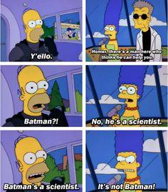 Batman's a scientist...
