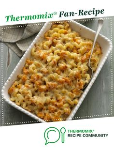 Recipe Butternut and bacon macaroni cheese by Thermomix in Australia, learn to make this recipe easily in your kitchen machine and discover other Thermomix recipes in Pasta & rice dishes. Bacon Mac And Cheese, Macaroni Cheese, Rice Dishes, Main Meals, Kids Meals, Dinner Recipes, Cooking Recipes, Pasta, Yummy Food