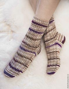 Носки вязаные Arctic – купить в интернет-магазине на Ярмарке Мастеров с доставкой