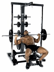Smith machine incline press