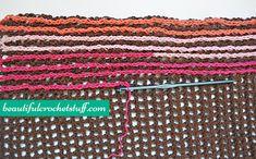 Free Crochet Blanket Pattern | Beautiful Crochet Stuff