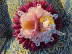 bibberberry: Baby Shower Corsages