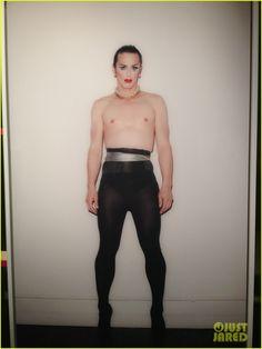 James Franco: Shirtless Drag Queen for 'Rebel' Exhibit! - james-franco Photo