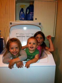 Cuties in the washing machine!