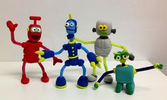 Robots jumping Clay Gijon