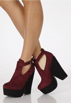 Sahia Suede Contrast Platform Wedges - Wedges - Shoes - Missguided   Ireland