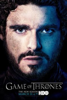 Game of Thrones Season 3 Rob Poster...Always amazing work, HBO! Bravo