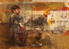 Mira que no hay más metafísica en el mundo que los tallarines III, Pilar López Báez $800
