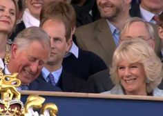 Diamond Jubilee concert, prince Charles and the duchess of Cornwall