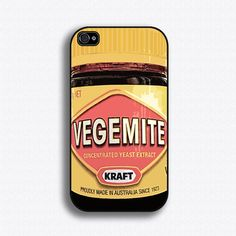 Vegemite iPhone 4 Case iPhone 4s Case by iCaseSeraSera