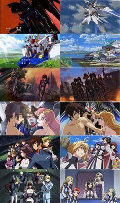 FAN MADE/FAN ART ANIME & MANGA, Gundam Seed with Cross Ange