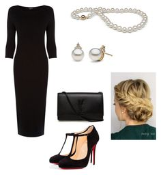 """""""Untitled #39"""" by mycatiscool ❤ liked on Polyvore featuring мода, Christian Louboutin, Yves Saint Laurent и Warehouse"""