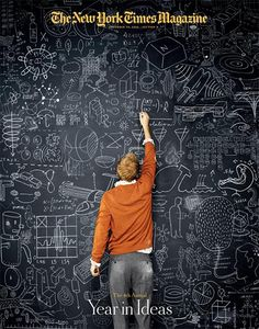 Idea for yearbook cover - make it chalkboard background with chalk drawings and lettering