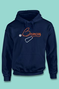 89f96a03580 The best gift for nurses and doctors who love the Denver Broncos! I need  this