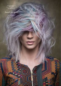 Goldwell Color Zoom 2015 Category: CREATIVE COLORIST Semi-finalist | Poland…
