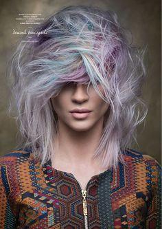 Goldwell Color Zoom 2015 Category: CREATIVE COLORIST Semi-finalist | Poland. Hair: Dominik Garczyński