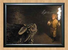 #Peter #dinklage game of thrones tyrion signed #autographed a4 print poster photo,  View more on the LINK: 	http://www.zeppy.io/product/gb/2/201576456175/